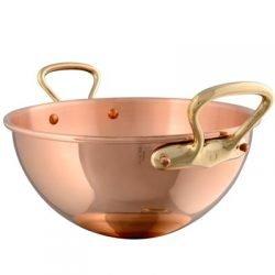 Mauviel Kupfer Schlagschüssel