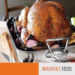 Mauviel M'cook Edelstahl Bratreine