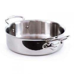 5230 Mauviel M'cook Niederer Bratentopf ohne Deckel