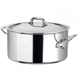 Mauviel M'cook Multi-Ply Koch-/Bratentopf mit Edelstahldeckel