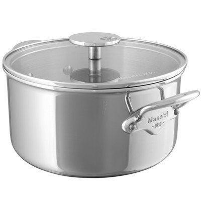Mauviel M'cook Multi-Ply Koch-/ Bratentopf mit Glasdeckel