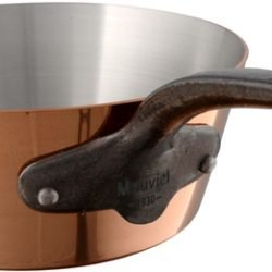 Mauviel M'250c Kupfer Konische Sauteuse Eisengriff-Optik