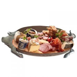 Catering Partyservice Bankett Platte Holz Büfett-Brett -Eber