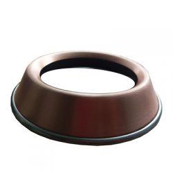 Kupfer Auflagering Standring für Schüsseln mit rundem Boden