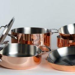 De Buyer Kupfer & Edelstahl - Edelstahlgriffe
