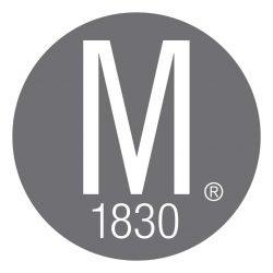 Mauviel Logo Edelstahl