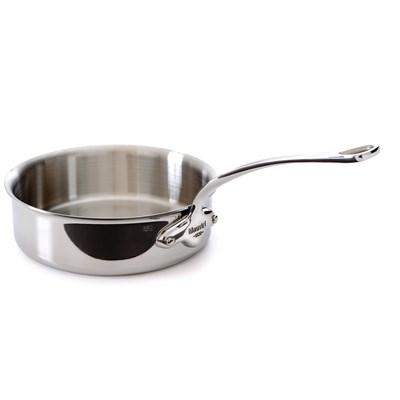 Mauviel M'cook 5211 Sauteuse - Pfanne mit hohem Rand - Stieltopf Edelstahlgriff