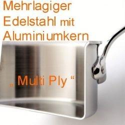 Multi Ply - Mehrlagiger Edelstahl