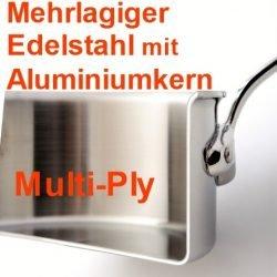 Mehrlagiger Edelstahl Multi-Ply