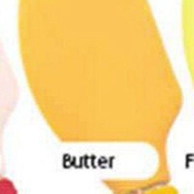 Tovolo Gummilöffel Spatula Farbe Butter