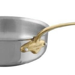 Mauviel M'cook Multi-Ply Sauteuse Bronzegriff