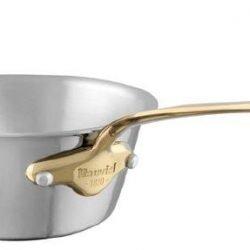 Mauviel M'cook Multi-Ply Konische Sauteuse Bronzegriff