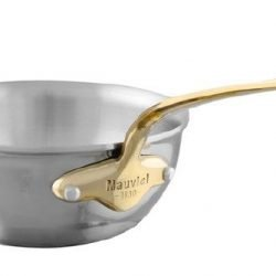 Mauviel M'cook Multi-Ply Bauchige Sauteuse Bronzegriff