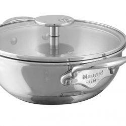 Mauviel M'cook Multi-Ply Bauchiger Topf / Gemüsetopf