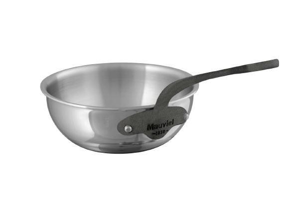 Mauviel M'cook c² Multi-Ply Bauchige Sauteuse Eisengriffoptik