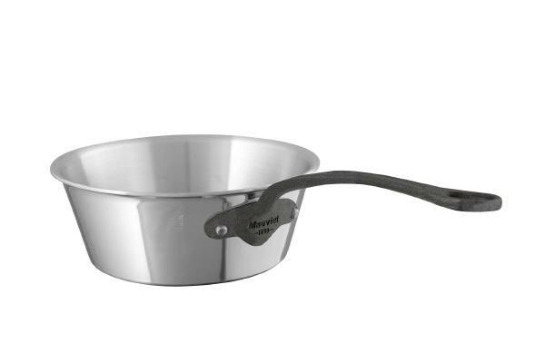 Mauviel M'cook c² Konische Sauteuse Eisengriffoptik
