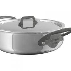 Mauviel M'cook c² Multi-Ply Niederer Bratentopf Eisengriffoptik