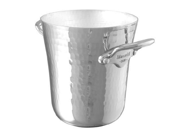 Mauviel M'30 Alu Eiskübel für eine kleine Flasche, Edelstahlgriffe