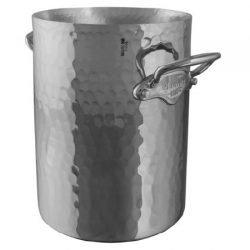 Mauviel M'30 ALU Weinkühler gehämmert Edelstahlgriffe