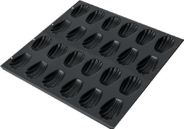 Mauviel Stahlblech Backform für 24 Madeleines