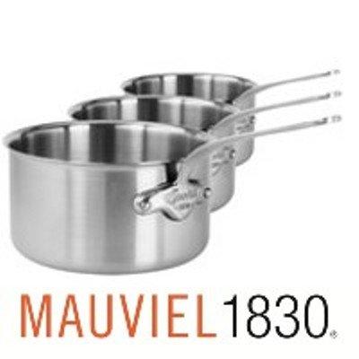 Mauviel 5710.50 Kasserollen 3er Set