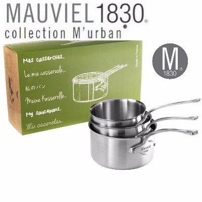 Mauviel M urban Kasserollen 3er set