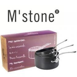 M stone 5210.50 Kasserollen 3er Set