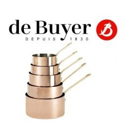 De Buyer Kupfer & Edelstahl Messinggriffe