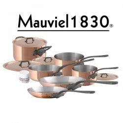 Mauviel M150c Kupfer Topf-Set 10-teilig