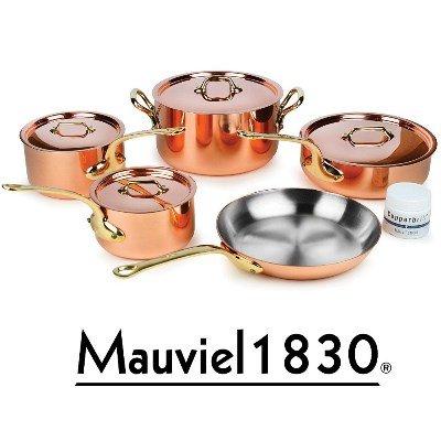Mauviel 1830 - M'250b Topf Set 9-teilig