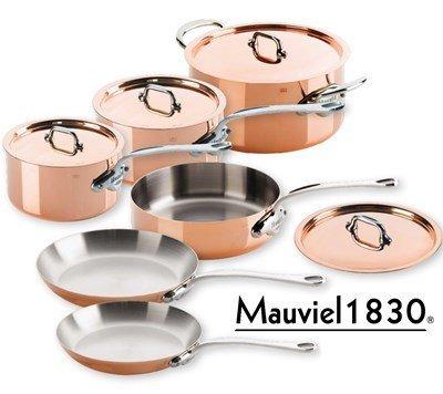 Mauviel M 150s Kupfer Topf Set 10-teilig