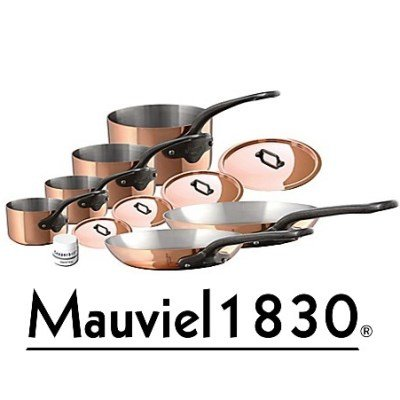 Mauviel M 250c Kupfer Topf Set 10-teilig