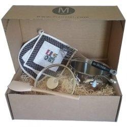 Mauviel M'cook Kasserolle Geschenkbox beige