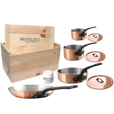 Mauviel 6530.07WC M'Heritage M250C 2.5mm Copper Cookware