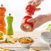 De Buyer Pfeffer- Salz- Gewürzmühle Rumba aus farbig lackiertem Holz