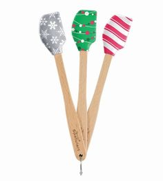 Mauviel Tovolo T80.9925 Mini Spatulas 3er-Set -cooking-tools-christmas-holiday