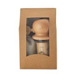 M888_018301_De Buyer Marlux Grobe Meersalzmühle GIFT BOX Salzmühle und 100g graues Meersalz