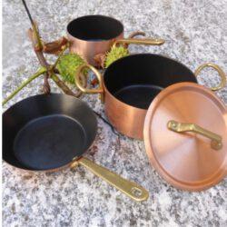 Kupfer MINIS geeignet für Induktion