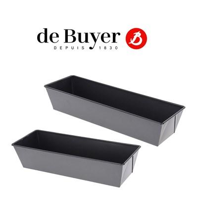 4716_DeBuyer Kastenkuchenform mit gefalteten Rändern