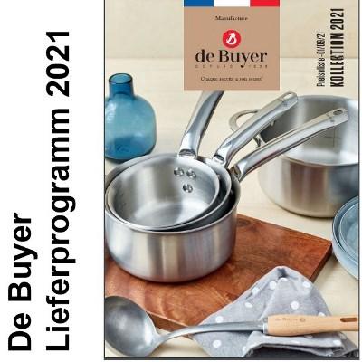 De Buyer Lieferprogramm 2021 - www.toepfeboutique.de